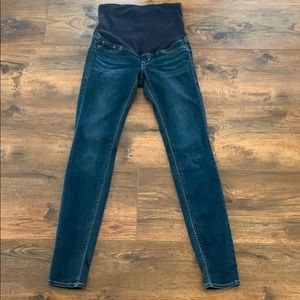 H&M Maternity Mama Super Skinny High Rib Jeans